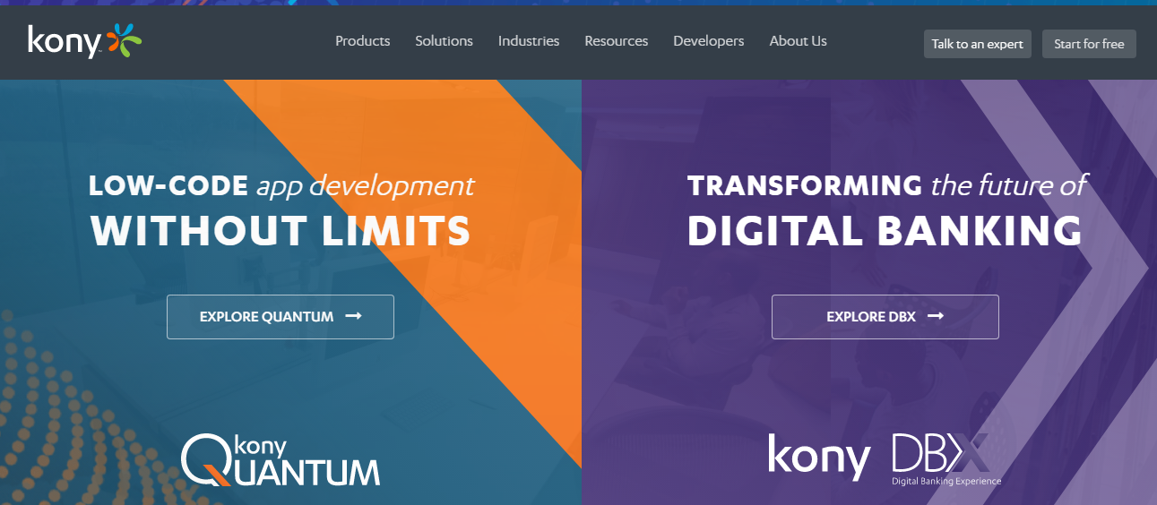 Kony is the mobile application development platform for rapid & low-code approaches